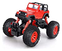 TXXM 教育玩具おもちゃの車のプルバックおもちゃの車の金属合金車のモデル少年車のモデルオフロード車おもちゃ (Color : Red)
