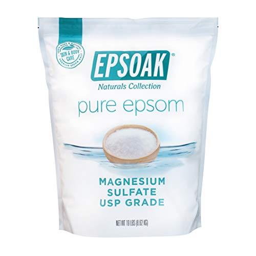 Epsoak USP Epsom Salt - 19 lbs. Resealable Bulk Bag