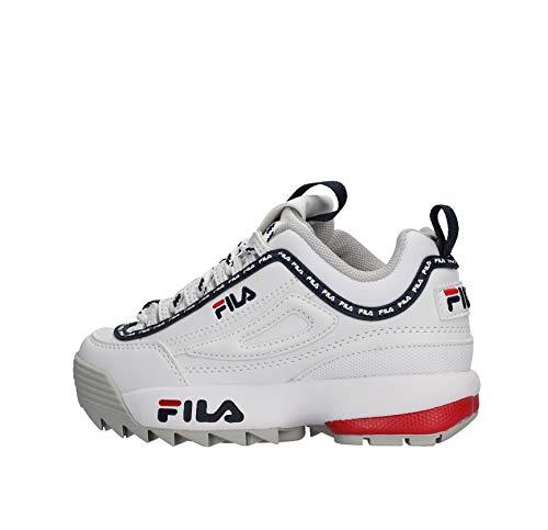 FILA Damskie buty sportowe Disruptor Low Wmn, biały - biały - 31 EU