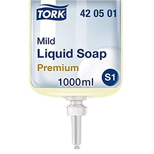 Tork 420501 Premium Flüssigseife, Mild (6-er pack)