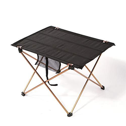 SXGKY Mesa Plegable al Aire Libre para Acampar, aleación de Aluminio, Mesa de Tela Oxford, Adecuada para Picnic al Aire Libre, etc, 56x37x42cm Mesa Plegable portátil FF