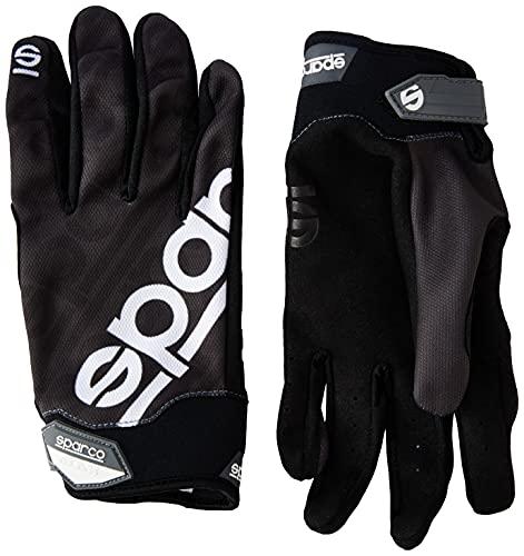Sparco 002093NR1S Handschuhe Meca 3 Tg. S, Schwarz, S