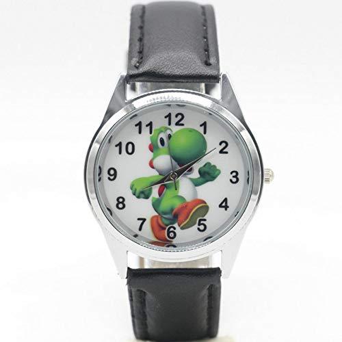 MIAOGE Orologi Spedizione Gratuita Nuova Moda Mario Yoshi Orologi Bambini Bambini Ragazzi Regalo Orologio Casual Quartz Wristwatch