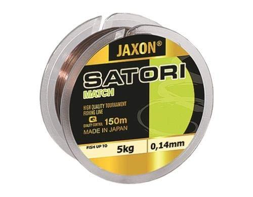 Jaxon Satori Match - Hilo de pesca (150 m, 0,12 - 0,25 mm), 0,20mm   9kg