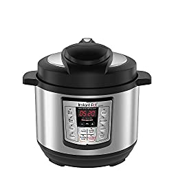 Image of an Instant Pot Pressure Cooker, one of the best kitchen must-haves for sustainable cooking