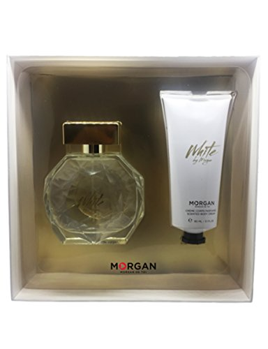 Morgan White by Morgan estuche Perfume/crema para cuerpo
