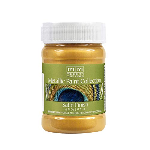 Modern Masters ME65806 Collection Metallic Paint, 6 Fl Oz (Pack of 1), Satin...
