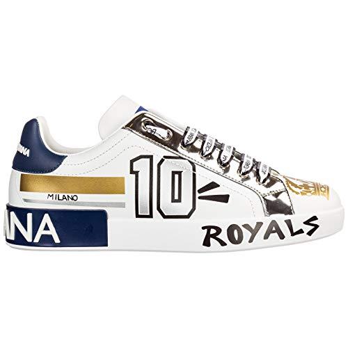 Dolce&Gabbana Sneakers Uomo Bianco 44 EU