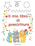 Il mio libro di prescrittura: Attività per imparare a scrivere...