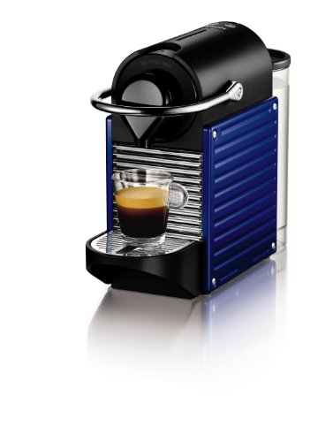 Nespresso Pixie Indigo (blue) XN3009 Krups - Cafetera monodosis 19 bares, apagado automático, Color Azul