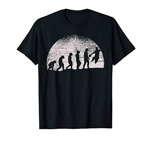 Mond Handballer Geschenk Evolution Handball T-Shirt