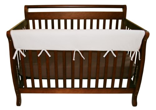 """Trend Lab Waterproof CribWrap Rail Cover - for Wide Long Crib Rails Made to Fit Rails up to 18"""" Around"""