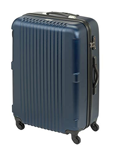 Princess Traveller Traveller San Francisco Scaler Collection Laptop Rollkoffer, 97 Liter, Navy Blue