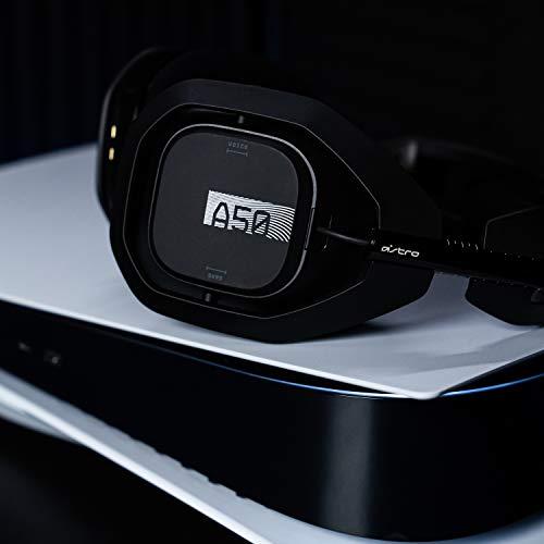 ASTRO Gaming A50, Wireless Gaming-Headset mit Ladestation, Gen 4, Dolby Audio, Game/Voice Balance Control, 2,4 GHz Kabellos, 9m range für PS5, PS4, PC, Mac - Schwarz/Silber
