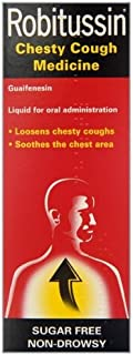 Robitussin Chesty Cough 100ml Cough Medicine Liquid