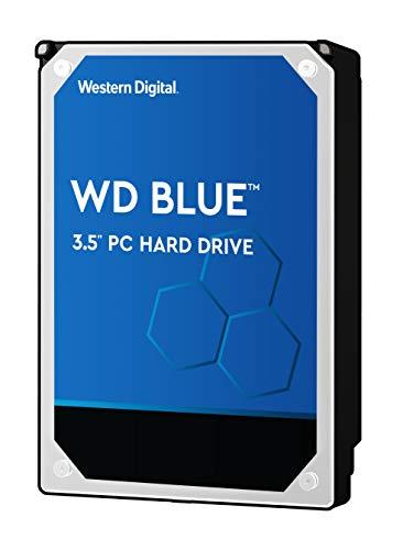 """WD Blue 6TB PC Hard Drive - 5400 RPM Class, SATA 6 Gb/s, 64 MB Cache, 3.5"""" - WD60EZRZ"""