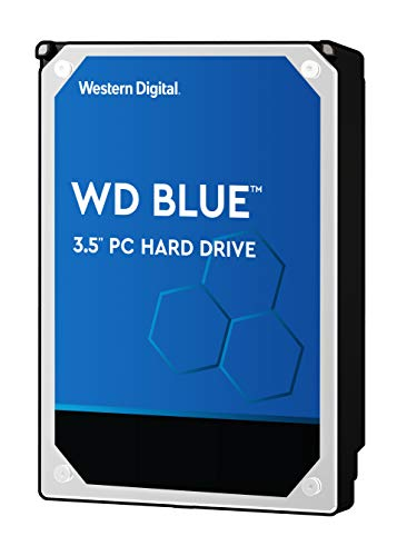 Western Digital 4TB WD Blue PC Hard Drive - 5400 RPM Class, SATA 6 Gb/s, , 64 MB Cache, 3.5 - WD40EZRZ
