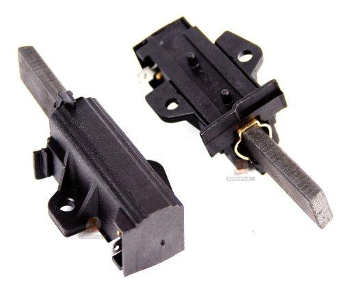 DREHFLEX - MK25 - Motorkohlen/Kohlebürsten für Sole-Motoren (ACC/NIDEC) - in verschiedenen Waschmaschinen - inkl. Halterung - 2 Stück