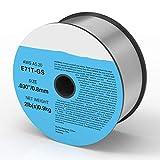 Release 0.8mm 0.9mm 1 kg Alambre de Soldadura MIG sin Gas E71T-GS AWS A5.20...