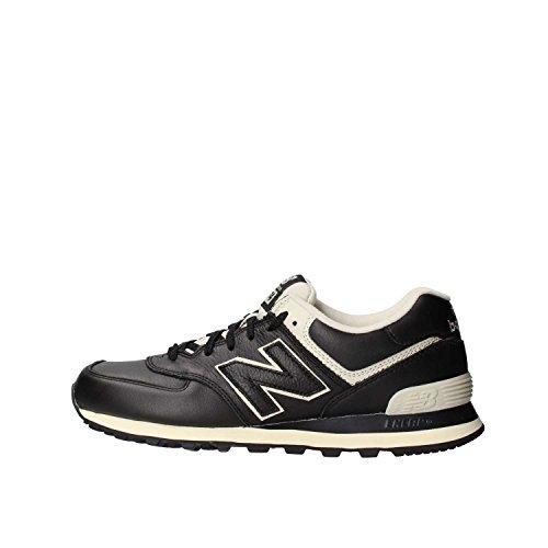 New Balance 574, zapatillas de running de entrenamiento para hombre, Negro (Schwarz (Black 001)), 4