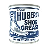 Huberds Shoe Grease, 7.5oz: Waterproofs, Softens, Conditions Leather. Protects Shoes, Boots, Sporting Goods, Saddle & Tack. Restores Dry, Cracked, Scratched Leather. Small Batched since 1921!