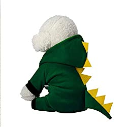 4. InnoPet Cute and Funny Dinosaur Pet Costume