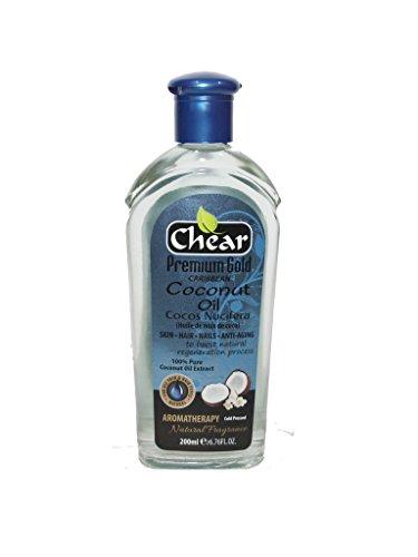 Chear Premium Gold Caribbean Cocos Nucifera Coconut Oil 200ml -...