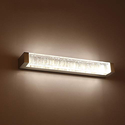 Spiegelkast spiegel koplamp, LED aluminium acryl wandlamp zilver waterdicht anti-condens eenvoudige moderne badkamer slaapkamer lampen neutraal licht