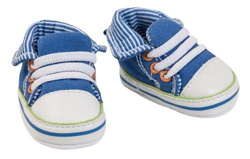 Heless Puppen Schuhe Puppen Sport Schuhe Chucks 6 cm lang für 38 - 45 cm Puppen