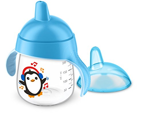 Philips Avent drinkbeker met bijtvaste drinkbeker, vanaf 12 maanden, 260 ml 260ml lichtblauw