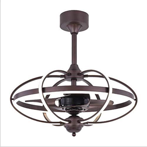 Creativo moderno ventilador de luz LED Ventilador de techo Ventilador de Luz Salón...