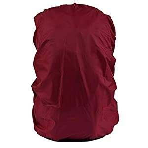 41M8v+0VCIL. SS300  - Funda Cubierta De Mochila Protector De Lluvia Impermeable Recorrido Senderismo Mochilas Polvo 30L-40L para Acampada - Rojo