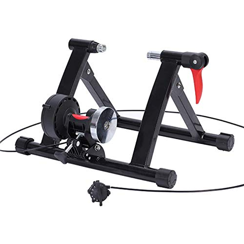Bike Trainer Stand,Indoor Bicycle Exercise Trainer Stand 6 Resistance Settings,Cycling Racks & Stands,Bike Trainer Accessories,for 20'-22' Bike