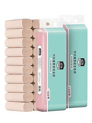 CHENYAO Huishoudelijke Kernloze Milieubescherming 3-laags Rolpapier Handdoek Multifunctioneel Toiletpapier Betaalbaar Zacht Toiletpapier (18 Rollen / 1 Vermelding)