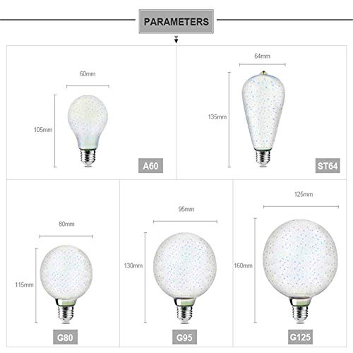 Mtttd74100147 Lámparas de Escritorio Lámparas de Mesa Ful Led 3D Light Bombillas Vintage Lámpara 3D Home Night Light Decoración Navideña Natural Y Respetuoso con el Medio Ambiente, Proteja Sus Ojos,