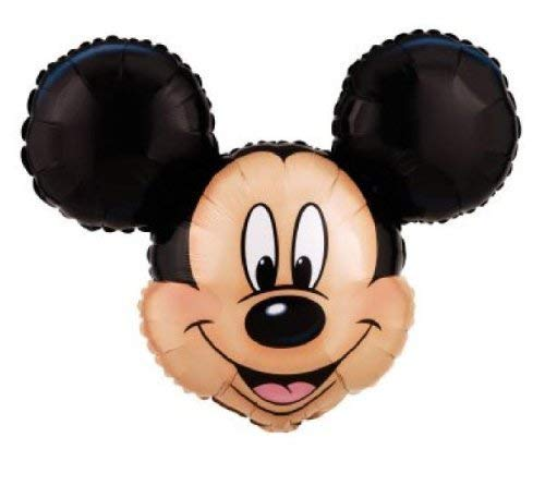 "Mickey Mouse Head Shaped Foil Balloon Jumbo 27"""