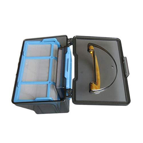 Yongenee Caja de polvo+Filtro+Primer Efectos Kits de Red para Ilife V3S V3L V3S Pro V5 V5S V5S Partes de aspirador