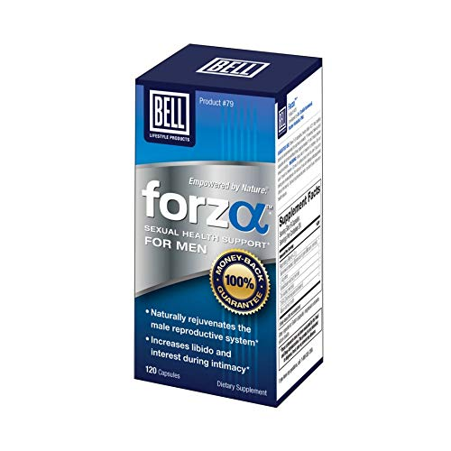 Forza Sexual Wellness for Men by Bell Lifestyle Products   Helps Promote Virility and Strength   Sold Directly by The Manufacturer