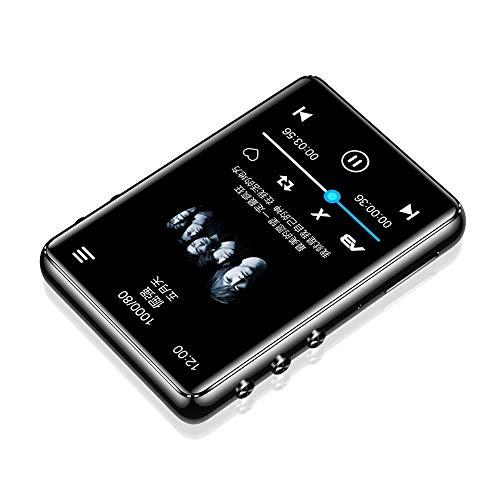 YLYMD Original Metal Reproductor MP3 Bluetooth 5.0 Pantalla Táctil 2.4 Pulgadas Altavoz Incorporado 40G Con E-Book Radio Grabación De Reproducción De Vídeo