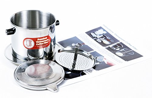 Vietnamese Coffee Filter Set. Also known as a Vietnamese Coffee Maker or Press 8oz. Gravity Insert. Multiple Sizes and Quantities Available