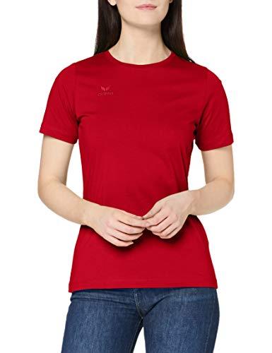 erima Damen T-Shirt Teamsport, rot, 40, 208372
