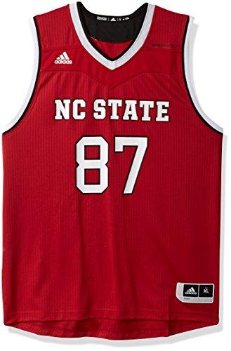 adidas NCAA Basketball Trikot Replica, Erwachsene, Herren, Replica Basketball Jersey, rot, X-Large