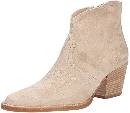 Paul Green 9666 Damen Stiefelette Beige, EU 39