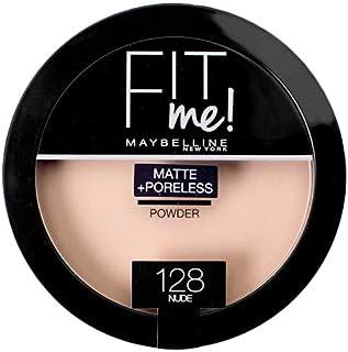 Maybelline Fit Me Matte Poreless Face Powder - 128 Nude, 14 g