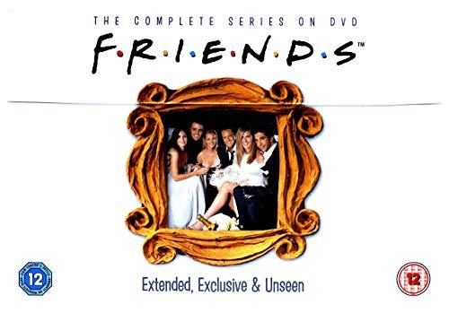 Friends - Season 1-10 (40 Dvd) [Edizione: Regno Unito] [Edizione: Regno Unito]