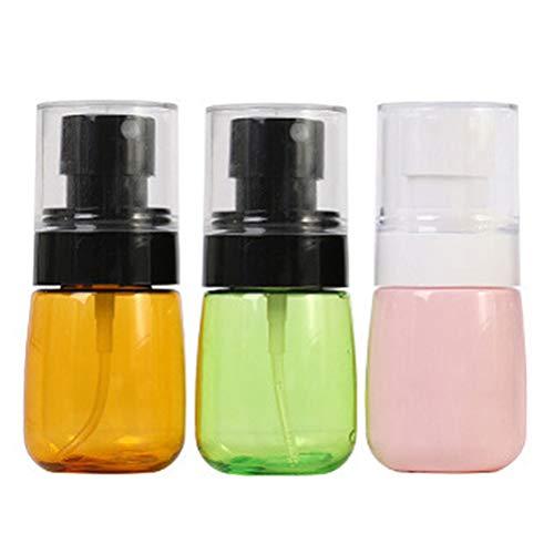 Minkissy 3 Piezas Botellas de Spray Atomizador de Perfume Recargable de 30 Ml con Bomba Botella de Spray de Niebla Botella de Perfume Vacía Caja de Bo