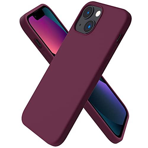 ORNARTO Funda Silicone Case Compatible con iPhone 13 Mini, Protección de Cuerpo...