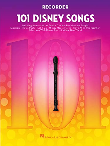 101 Disney Songs - Recorder: for Recorder (English Edition)