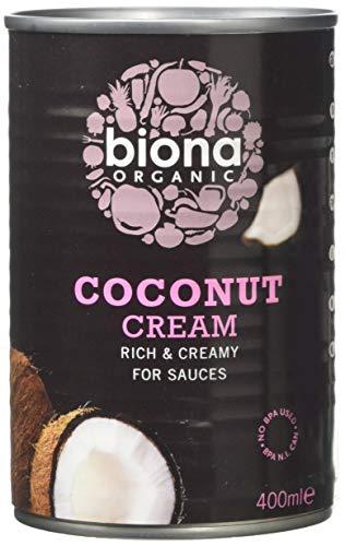 BIONA Organic Coconut Cream 400ml (PACK OF 1)