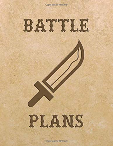 Battle Plans: (200 Pages) Blank Hexagonal Journal for Mapping Strategies : Small & Large Hex Pages Strategy Map Making for Tabletop Gaming : Hex Grid ... Notebook (Tabletop RPG Battle Plans, Band 2)